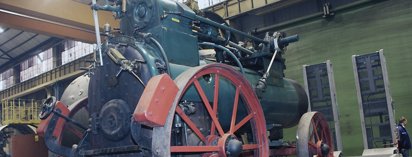 BMA plays host to historic Lanz traction engine